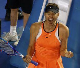 Sharapova alcanza los cuartos tras ganar a la suiza Bencic