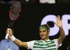 Federer no da opción a Goffin
