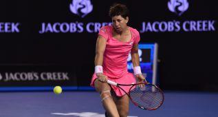 Carla Suárez es cuartofinalista ante Radwanska