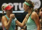 Angelique Kerber sorprende y derriba a Victoria Azarenka