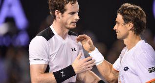 Batalla de Ferrer, que se inclina ante Andy Murray en Australia