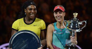 Primer gran título para Kerber, que derriba a Serena Williams
