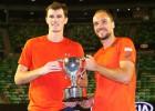 Jamie Murray y el brasileño Soares ganan el título en dobles