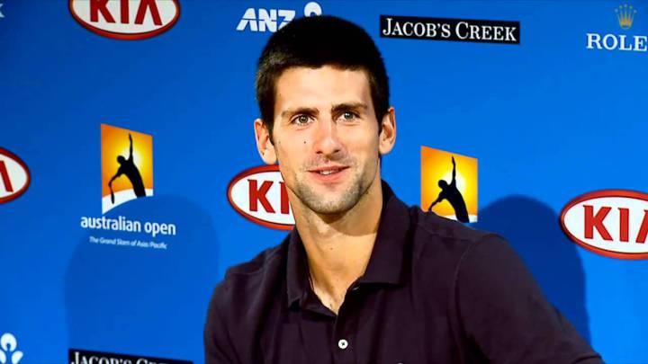 """Djokovic: """"Estoy jugando el mejor tenis de mi vida"""""""