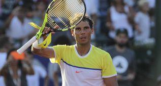 """Nadal: """"Fue un esfuerzo enorme pero ya estoy en semifinales"""""""