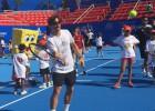 Ferrer y Azarenka comparten con niños de Guerrero