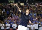 Djokovic y Murray cumplen, pero no sus compañeros
