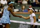 Venus Williams fue eliminada en su regreso a Indian Wells