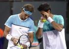 Nadal cae ante los Bryan con Verdasco y debuta con Muller