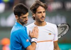 Djokovic no da opción a Feliciano López en octavos