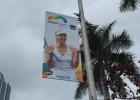 María Sharapova aún aparece en los carteles del Miami Open