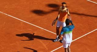 Nadal debuta con victoria en dobles y jugará con Bedene
