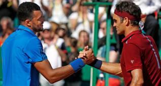 Tsonga acaba con el sueño de Federer en cuartos de final