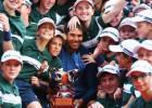 La final de Montecarlo entre Rafa Nadal y Gael Monfils en imágenes