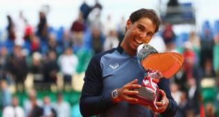 Nadal iguala a Djokovic y amenaza a Guillermo Vilas