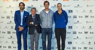 Murray y Feliciano presentan el Masters 1000 Madrid