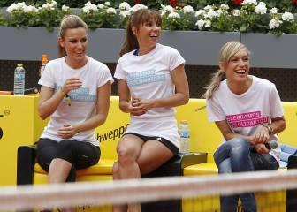 Tenis, buen humor, y rostros famosos en el charity Day