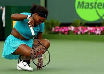 Serena Williams, baja en el torneo de Madrid por fiebre