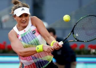 Paula Badosa cede lesionada ante la francesa Cornet