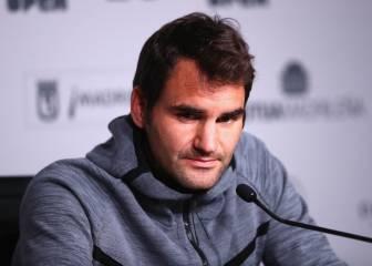 Roger Federer se borra