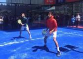 ¿Qué tal se le da jugar al pádel a Novak Djokovic?