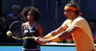 El saque de Rafa Nadal anula a 'AK' Kuznetsov en Madrid