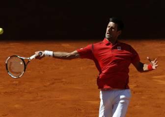 Djokovic venció en Madrid y da a Nadal como