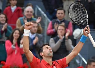 Djokovic es un 'alien' y ya suma 29 títulos Masters 1.000