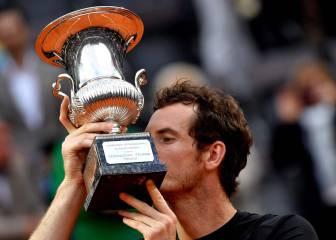 Murray sube al número dos tras ganar a Djokovic en Roma
