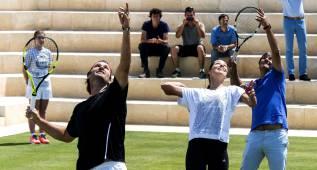 Ivanovic y Moyá abren la pista de hierba del Mallorca Open