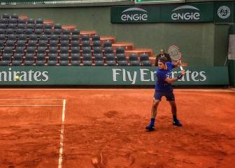 Federer se prueba... y peligra su 66º Grand Slam seguido
