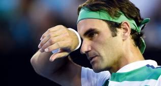 Federer pidió a la organización empezar el torneo el martes
