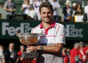 60.000 euros, premio por un solo triunfo en Roland Garros