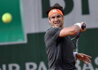 Ferrer selló una gran jornada para los tenistas españoles