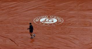La lluvia retrasa el inicio de los partidos en Roland Garros