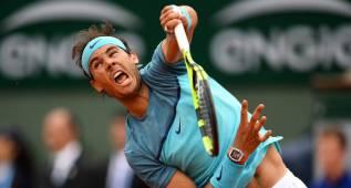 Rafa Nadal, baja en Wimbledon