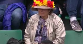 La 'fan' de Garbiñe Muguruza no faltará en Wimbledon