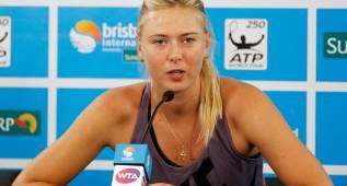 Sharapova recurre al TAS para rebajar la sanción de dos años