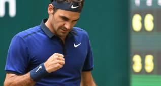 Federer y Thiem avanzan a cuartos de final en Halle