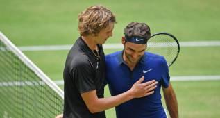 El alemán Alexander Zverev deja a Federer sin final en Halle