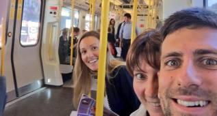 """Novak Djokovic se siente como """"un londinense"""" en el Metro"""