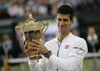 Djokovic y Serena lideran las apuestas para Wimbledon