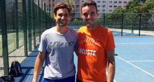 Ferrer y Bautista se entrenan juntos antes de Wimbedon