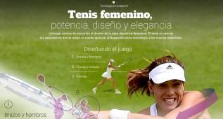 Así ha evolucionado la ropa deportiva en el tenis femenino