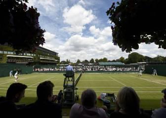 La lluvia obliga a aplazar 24 partidos en Wimbledon