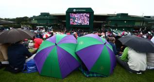 Cancelado el partido de Muguruza por la lluvia