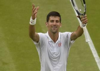 Djokovic vence y se acerca a los míticos Laver y Budge