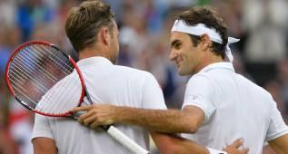 "Roger Federer, a Marcus Willis: ""Gracias por estos momentos"""