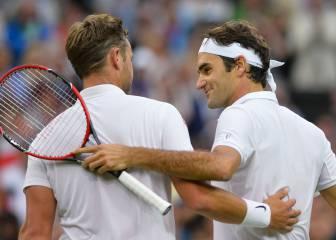Roger Federer, a Marcus Willis: