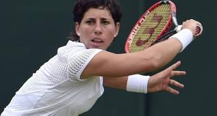 Carla Suárez remonta y se clasifica para tercera ronda